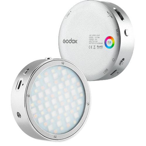 Godox mini Led RGB tondo Silver