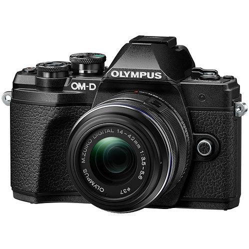 Olympus OM-D E-M10 III +14-42mm f/3.5-5.6 II R Black