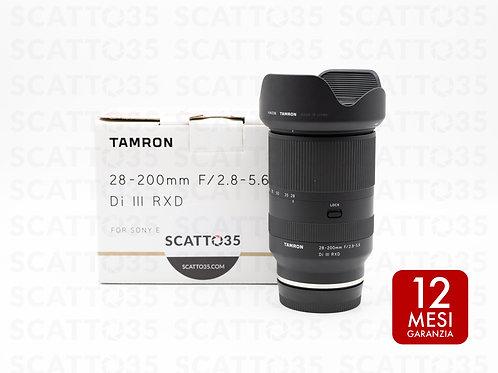 Tamron 28-200mm f2.8-5.6 Di III RXD (Sony-E)