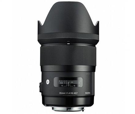 SIGMA 35mm F1.4 ART DG HSM M-TRADING