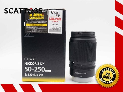 Nikon Z 50-250mm f4.5-6.3 VR Z DX