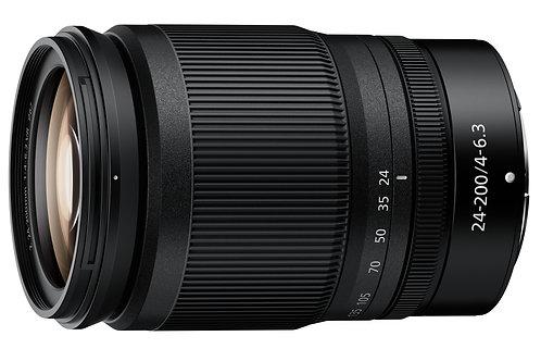 NIKON NIKKOR Z 24-200mm f/4-6.3 VR  - NITAL