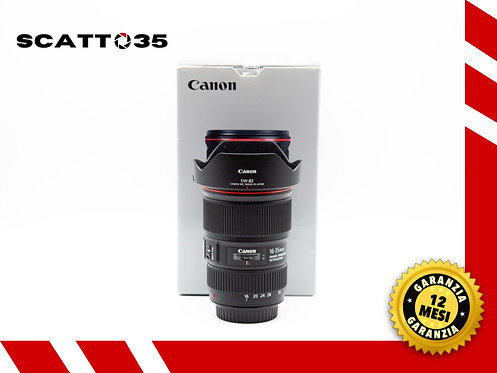 CANON EF 16-35 mm F4 IS  L II USM