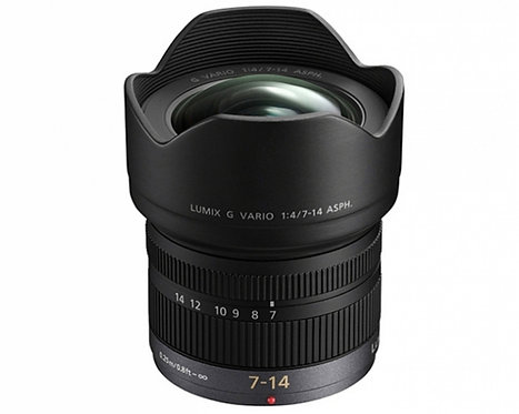 PANASONIC 7-14mm F4 G ASPH - FOWA