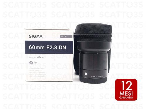 Sigma 60mm f2.8 DN ART (Sony-E)