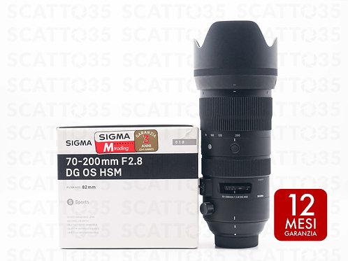 Sigma 70-200 f2.8 DG OS HSM Sports (Nikon-F)