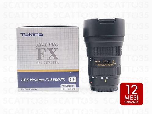 Tokina 16-28mm f2.8 AT-X PRO FX (Canon-EF)
