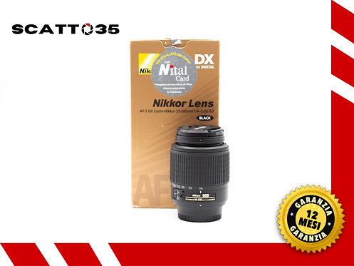 NIKON 55-200 mm F4-5.6 G ED DX