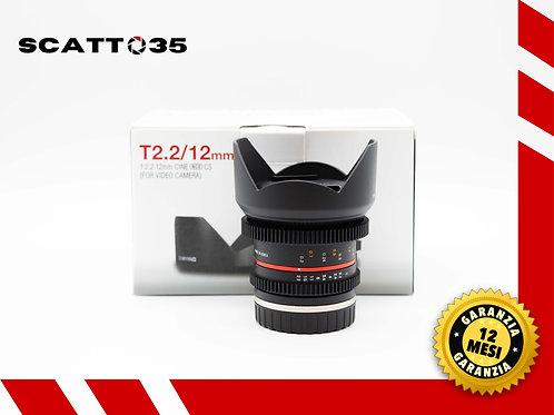 Samyang 12mm T2.2 Cine NCS (Sony-E)