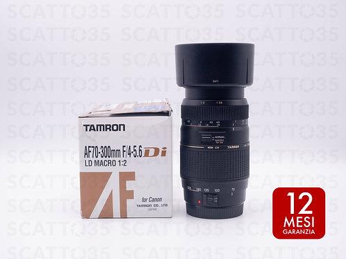 Tamron 70-300 f4-5.6 LD Di Macro (Canon-EF)