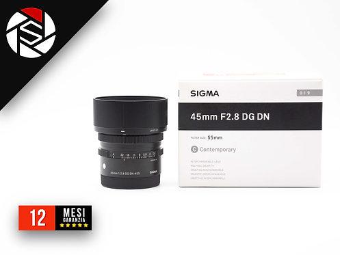 SIGMA 45 F2.8 FG DN - SONY E-MOUNT