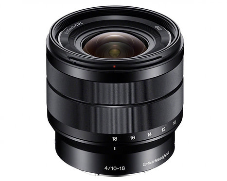 SONY 10-18mm F4 OSS E-MOUNT APS-C - SONY ITALIA