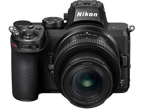 NIKON Z5 + 24-50mm + SD 64GB 667x  PRO - NITAL