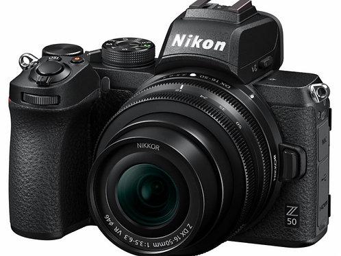 NIKON Z 50 + Z DX 16-50 VR +SD 64GB LEXAR 667x PRO - NITAL