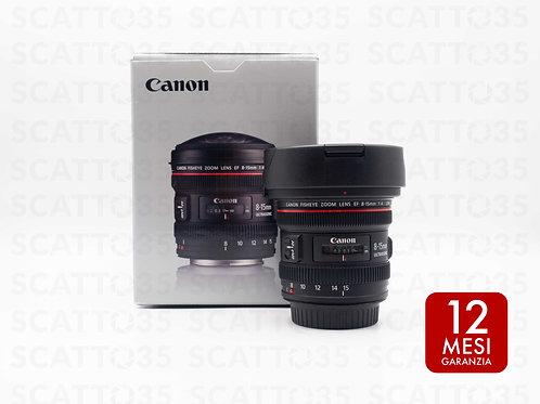 Canon EF 8-15mm f4 L USM Fisheye