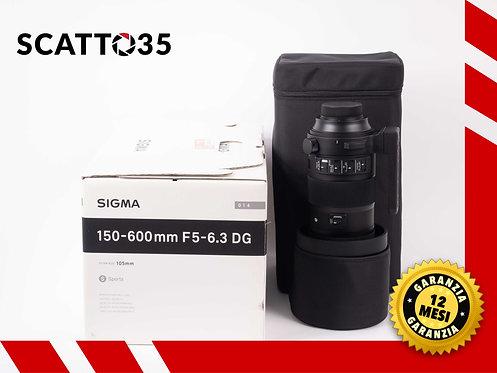 SIGMA 150-600mm F5-6.3 DG OS HSM S (NIKON)