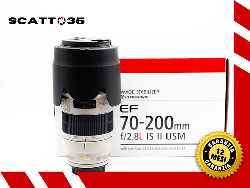 CANON EF 70-200 mm F2.8 L IS II USM