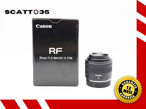 CANON RF 35 mm F1.8 MACRO IS STM