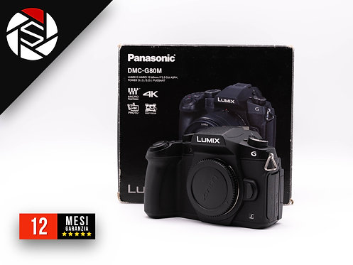 PANASONIC G80 BLACK BODY