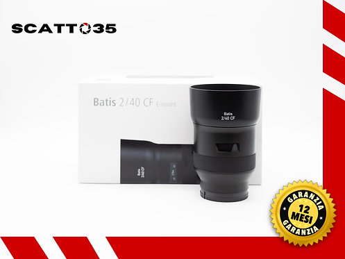 ZEISS BATIS 40 F2  CF SONY E-MOUNT