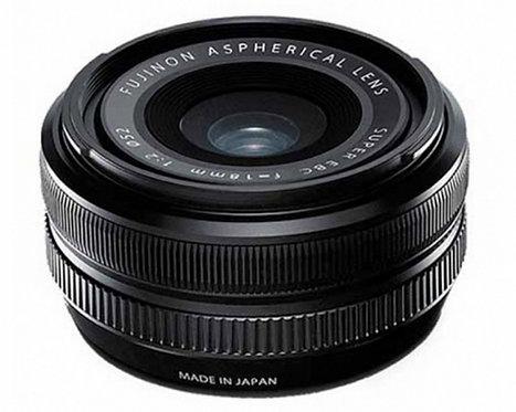 FUJIFILM XF 18mm F2 BLACK - FUJI ITALIA