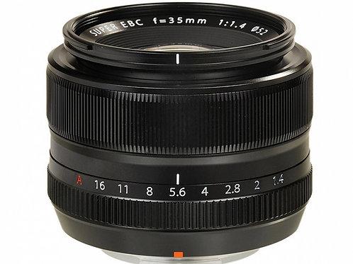 FUJI FUJINON XF 35mm 1.4 R BLACK - FUJI ITALIA