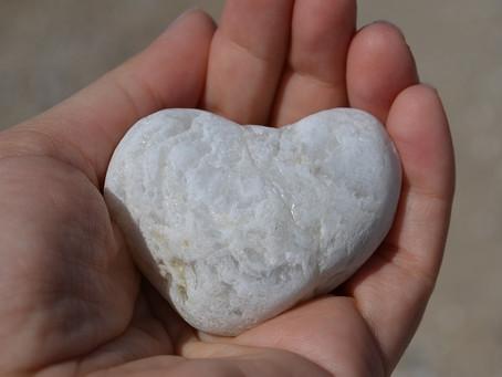לחרוט על אבן ליבך (משל)