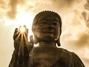 התלמיד שראה את בודהה במדיטציה (משל)