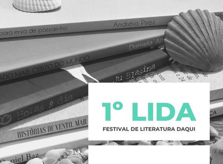 1o LIDA, Festival de Literatura Daqui