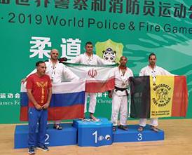 Kevin Bardax en bronze aux Jeux Mondiaux Police/Pompiers !!!