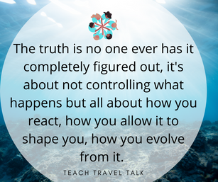 Avoiding our trigger is not going to heal you. The healing process begins when you are tri