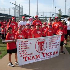 Team Texas Banner