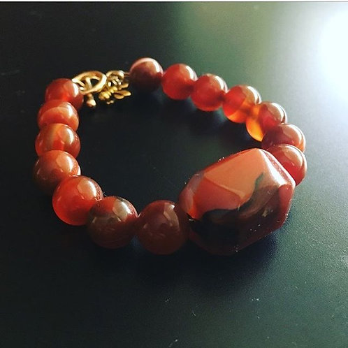 Custom Crystal Healing Bracelet