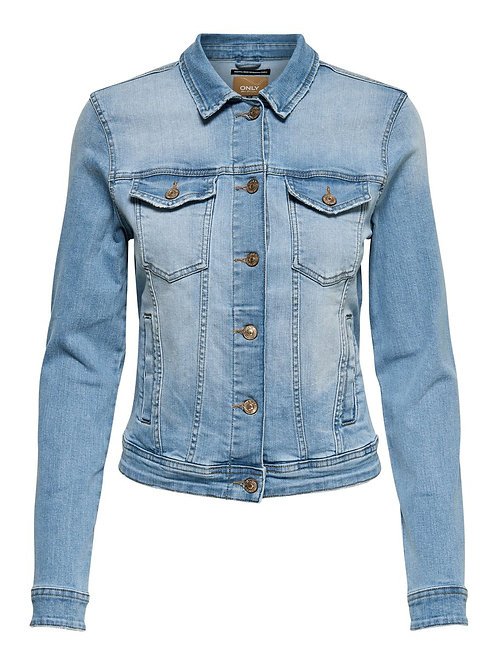 Only Tia Life Denim Jakke