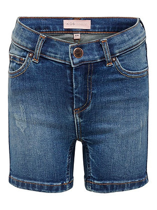 Only Kids Blush Denim Shorts