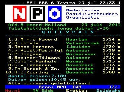 Teletext Quievrain Comb. van Panhuis