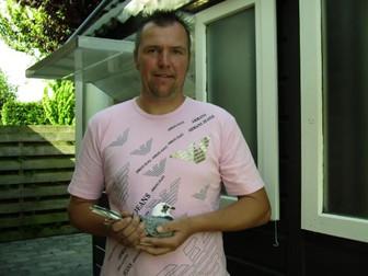 Roel Veldman 6. Nat. ACE YB WHZB/TBOTB with 50% Van Panhuis pigeon