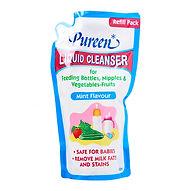 Pureen Liquid Cleanser, Mint Flavour, Refill, 600ml