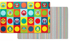 Skip Hop Doubleplay Reversible Playmat, Zoo