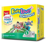 Babylove Playpants Baby Diapers, L, 16pcs