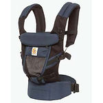 Ergobaby Adapt Baby Carrier, Cool Air Mesh, Raven