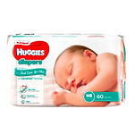 Huggies Platinum Diapers, NB, 60pcs