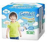 Genki! Premium Soft Pants, XL, 26pcs