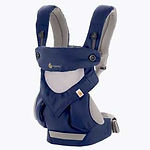 Ergobaby 360 All Positions Baby Carrier, Cool Air Mesh, French Blue