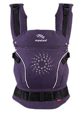 Manduca Limited Edition Baby Carrier, Purple Darts