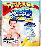 MamyPoko Extra Dry Skin Pants, M, 60pcs