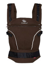 Manduca Pure Cotton Baby Carrier, Coffee Brown
