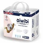 Aiwibi Premium Baby Diapers, M, 30pcs