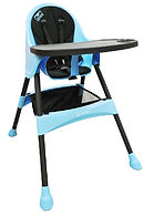 Lucky Baby Modus Plus Baby High Chair, Blue