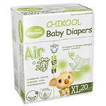Chikool Air Baby Diapers, XL, 20pcs